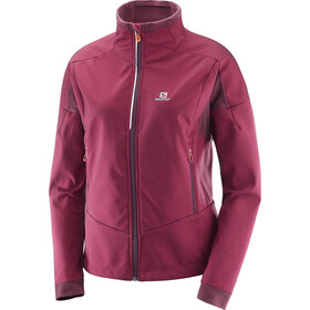 Salomon Equipe TR Jacket Dam beet red/fig